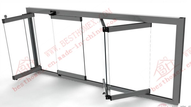 High Quality Aluminum Bi-Folding Glass Window (BHA-FW07)