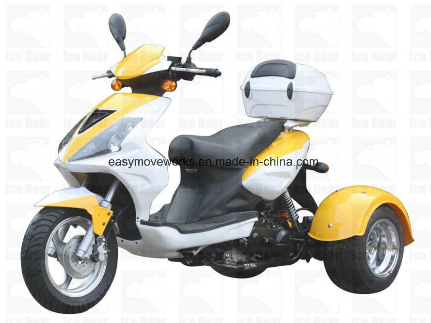 Zhenhua Mojo Pst50-8 Motorcycle Disc EPA Trike Cdi Elec Start