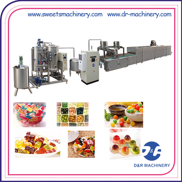 High Quality Jelly Candy Depositing Line Candy Making Machine