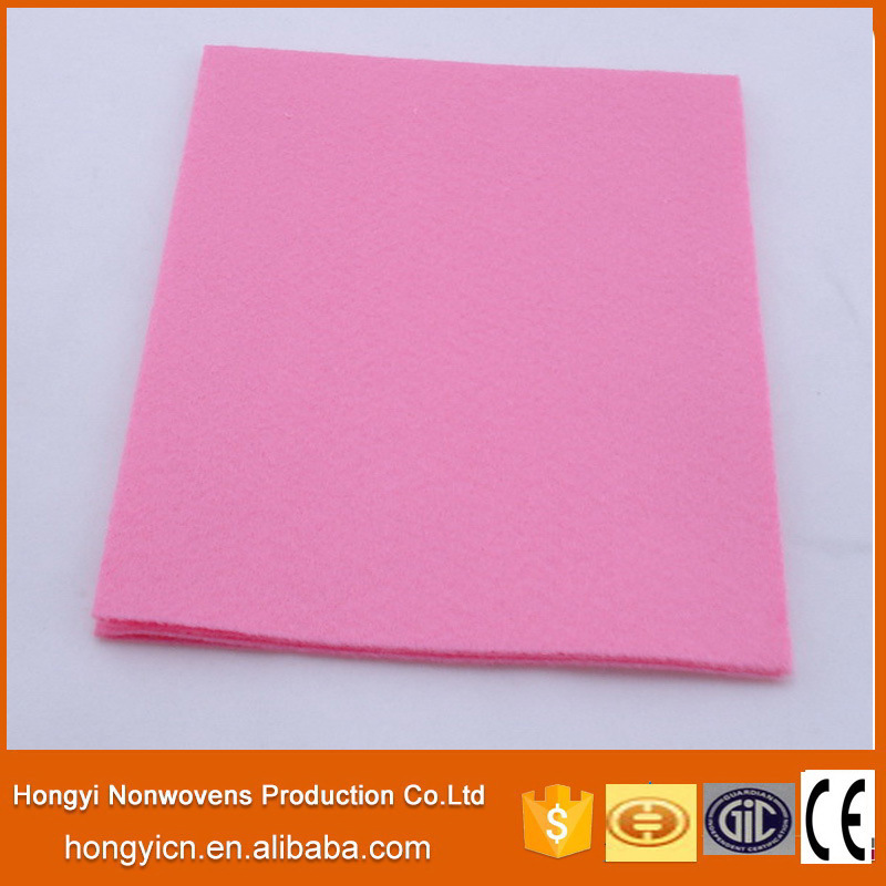 Super Absorbent Multi-Color Needle Punched Nonwoven Fabric Cleaning Products