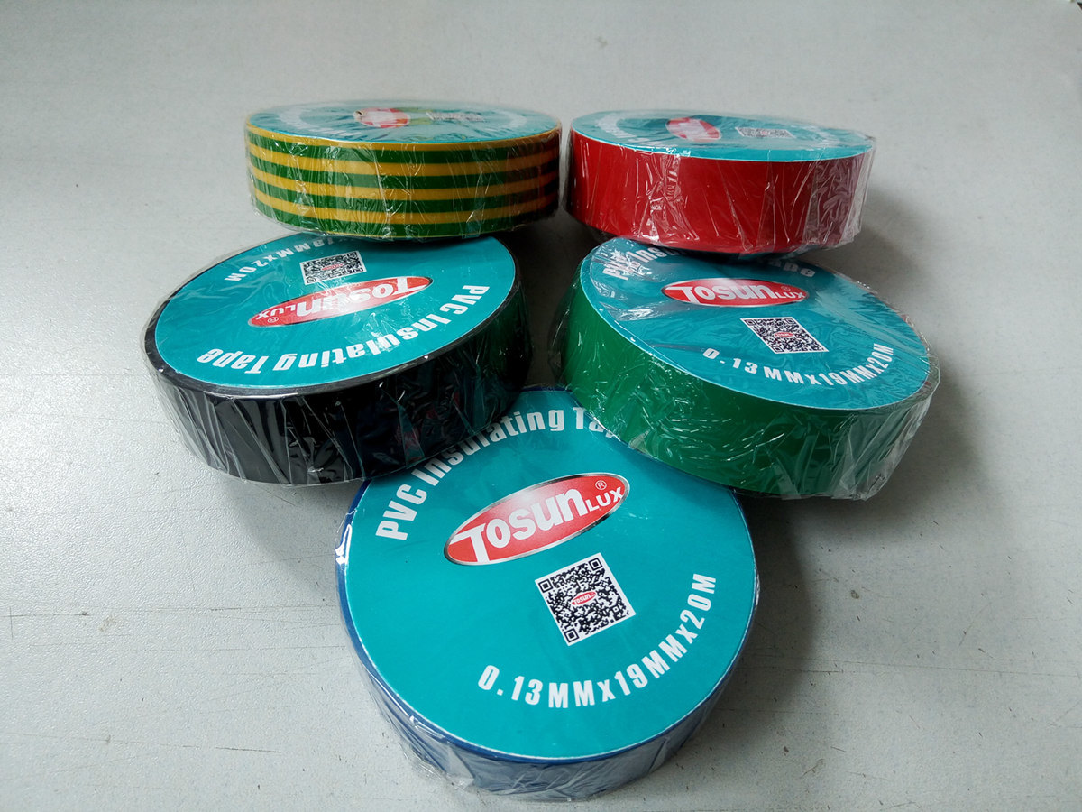 PVC Electrical Insulation Tape with Multi Colors