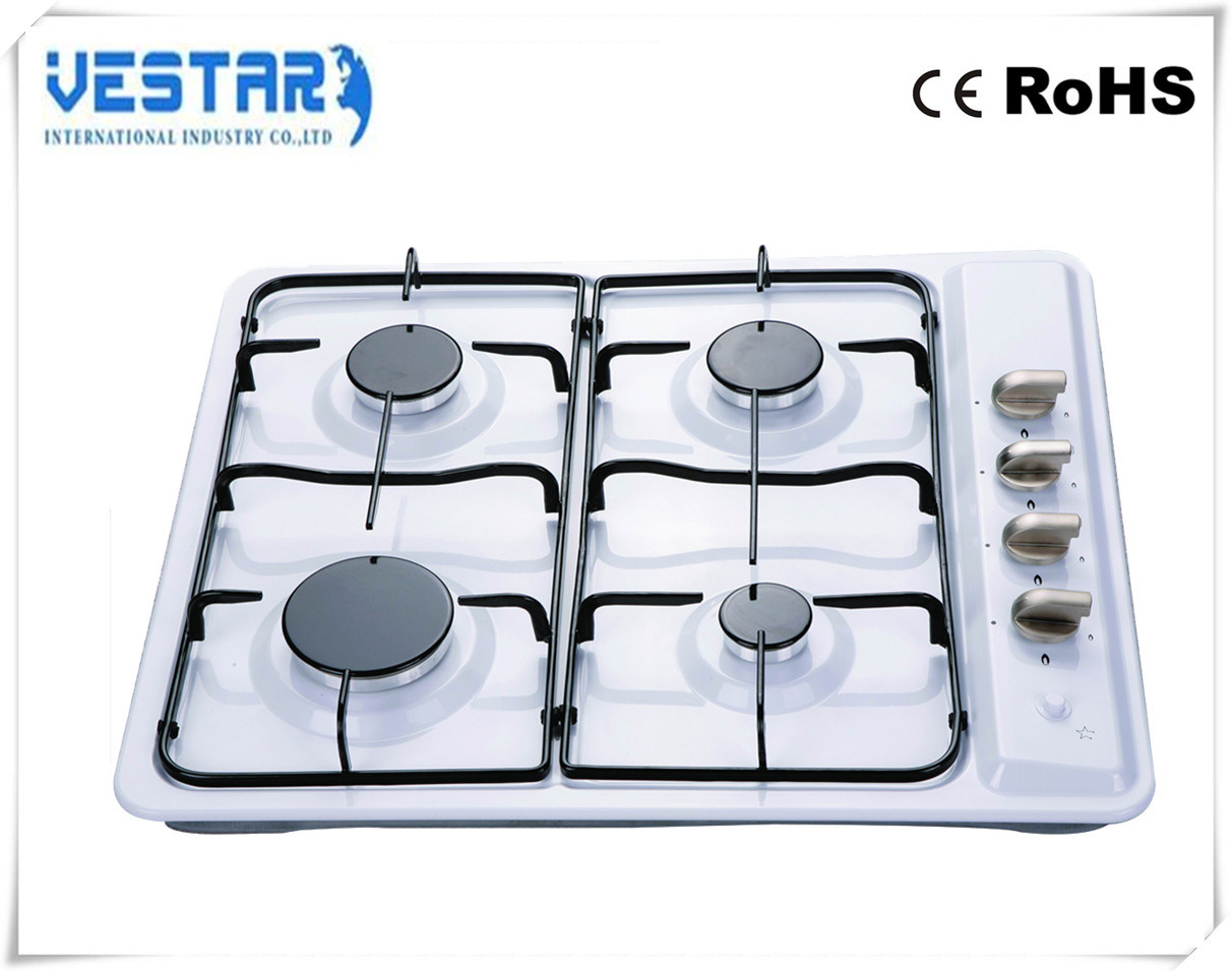 New Model High Quality S. S 430 4 Burner Gas Hob