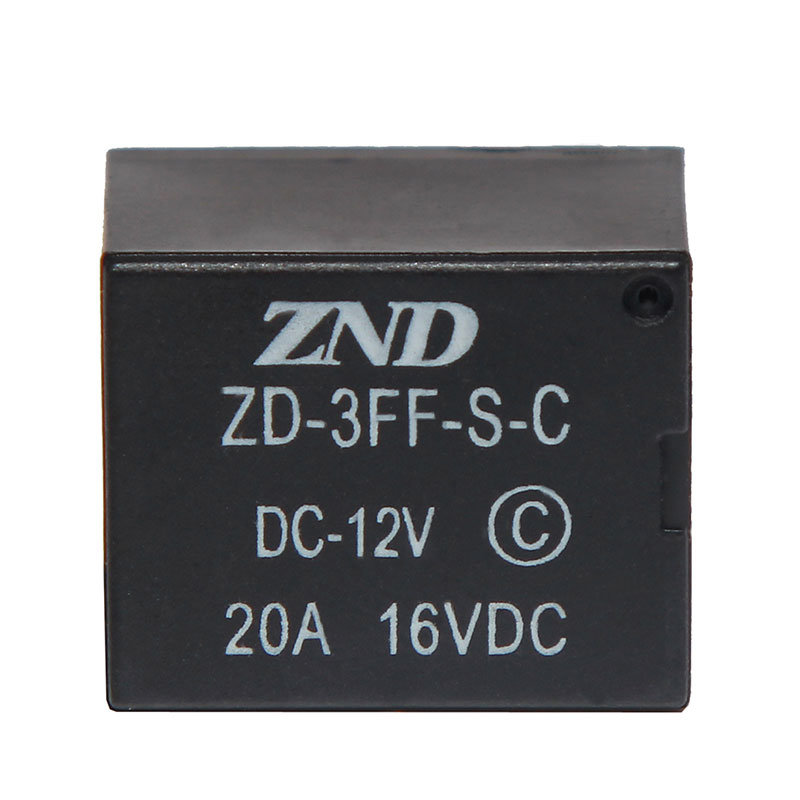 3FF (T73) 20A 12V Power Relay Miniature Electromagnetic Relay 5pins