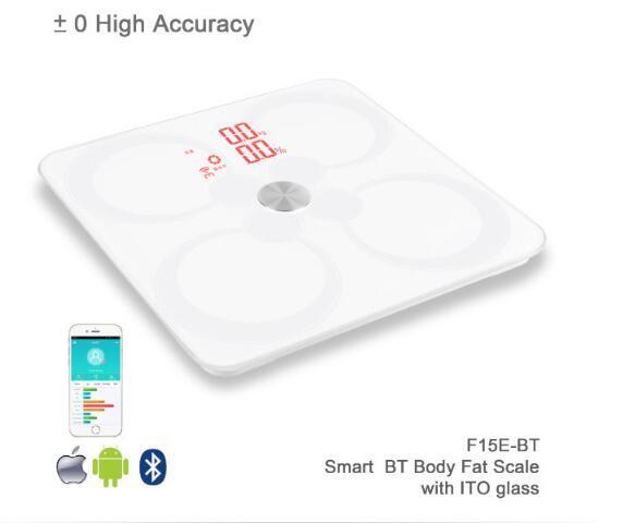 ITO Precision Bathroom Large Platform Large LCD Digital Body Scale