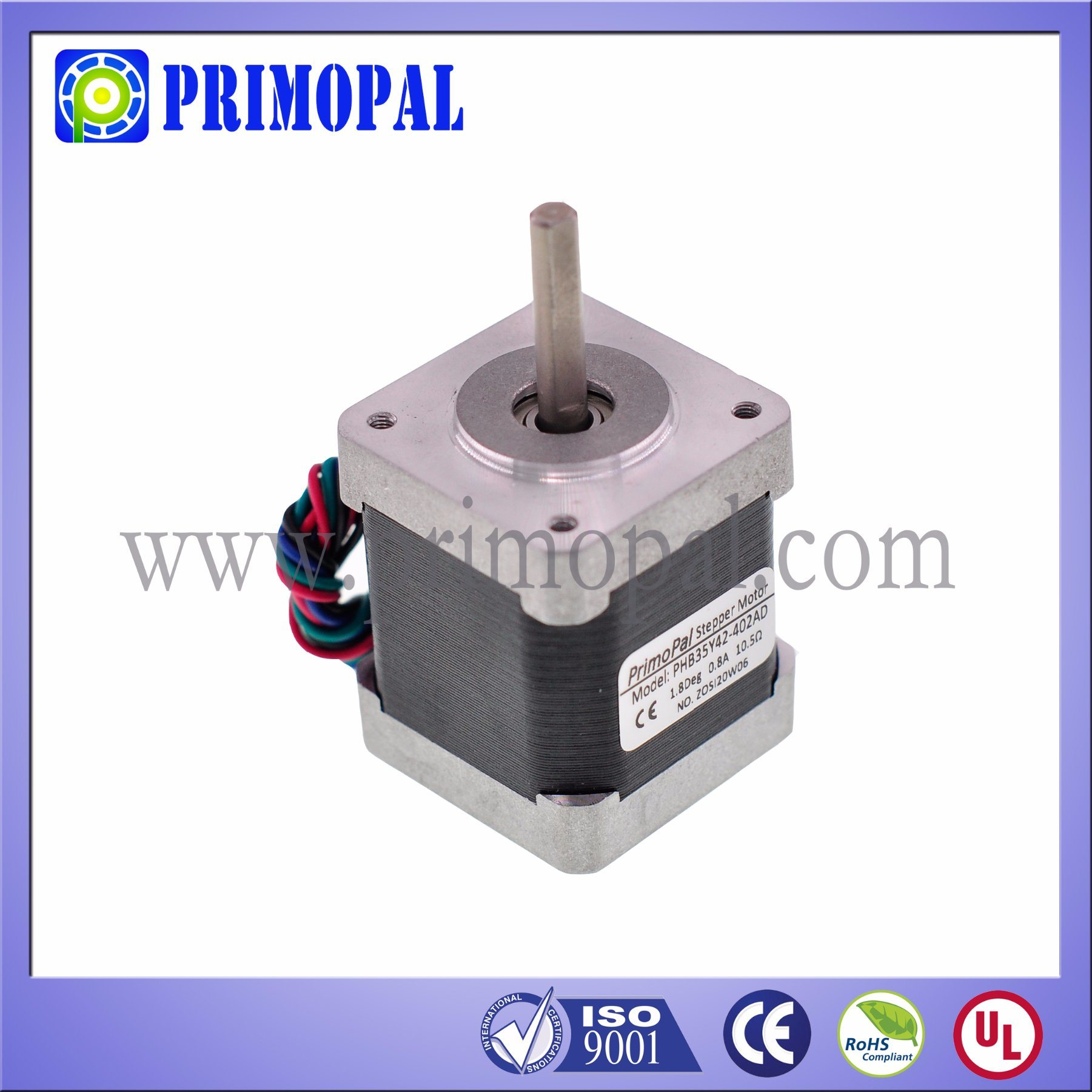 1.8 Degree NEMA 14 Stepper Motor for 3D Printer