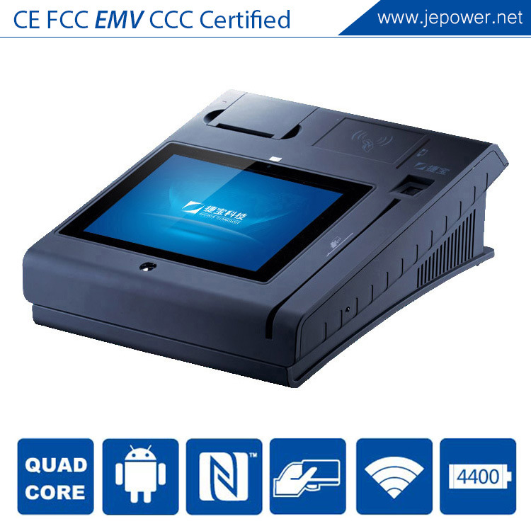 POS System Electronic Cash Register Machine with Bill Printer