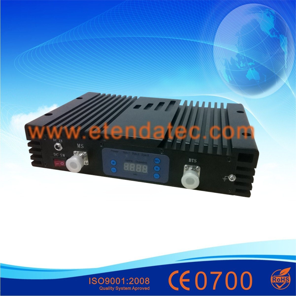 High Power GSM Dcs 900MHz 1800MHz Mobile Signal Booster