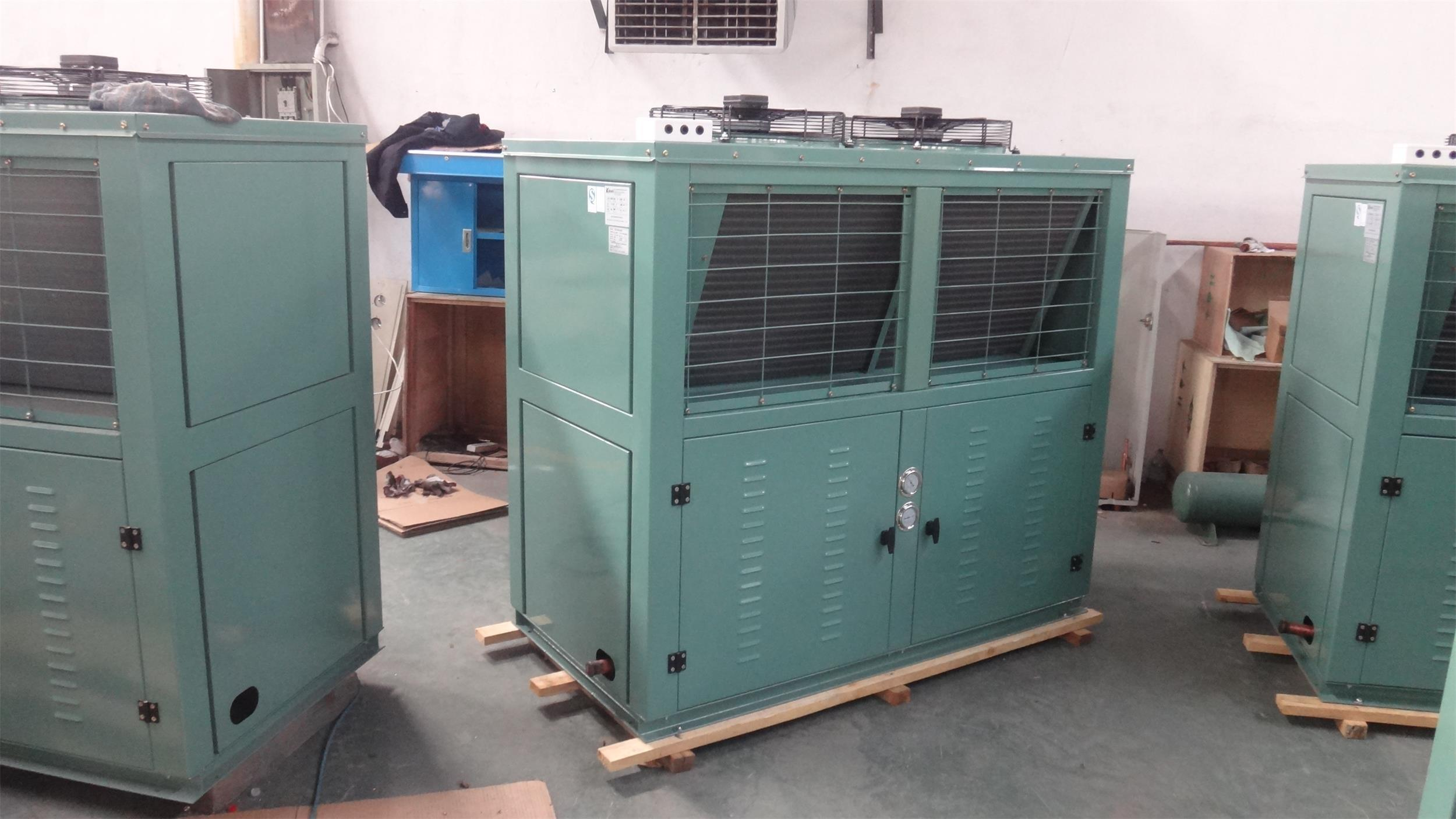 China Hot Sale V Type Air Condenser Refrigeration Condensing Unit