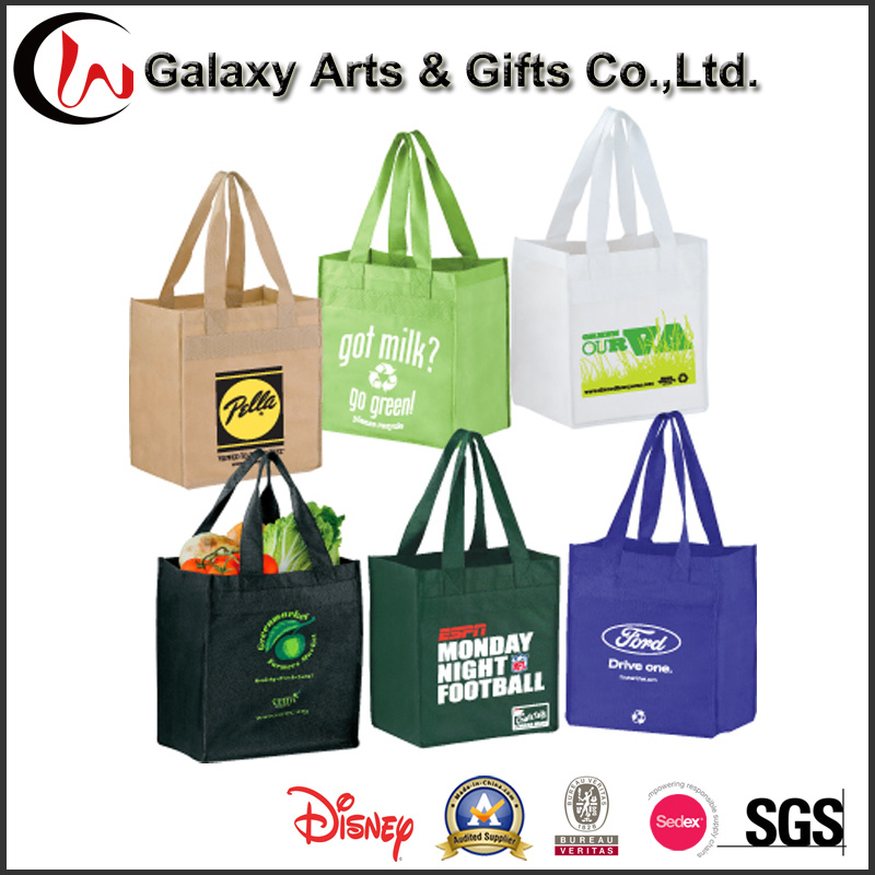 Promotional Tote Non Woven Plastic Gift Shopping Bag for Women