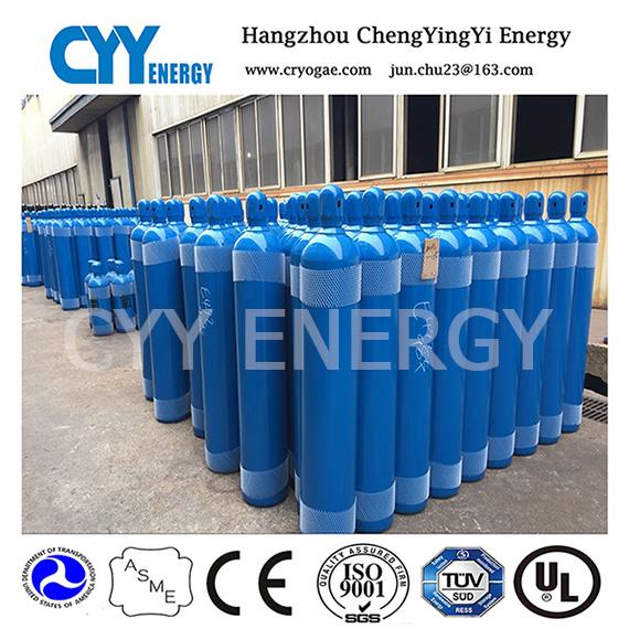 New 50L High Pressure Oxygen Nitrogen Argon Carbon Dioxide Seamless Steel Cylinder
