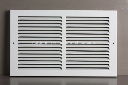 """Baseboard Return Air Grille with 1/3""""Fins-303202"""