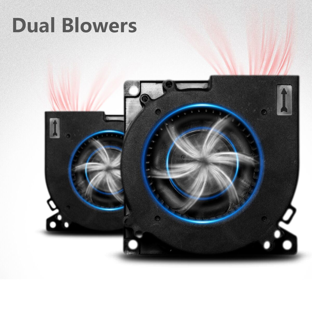 Dual Core Home Air Cleaner/Air Purifier with HEPA