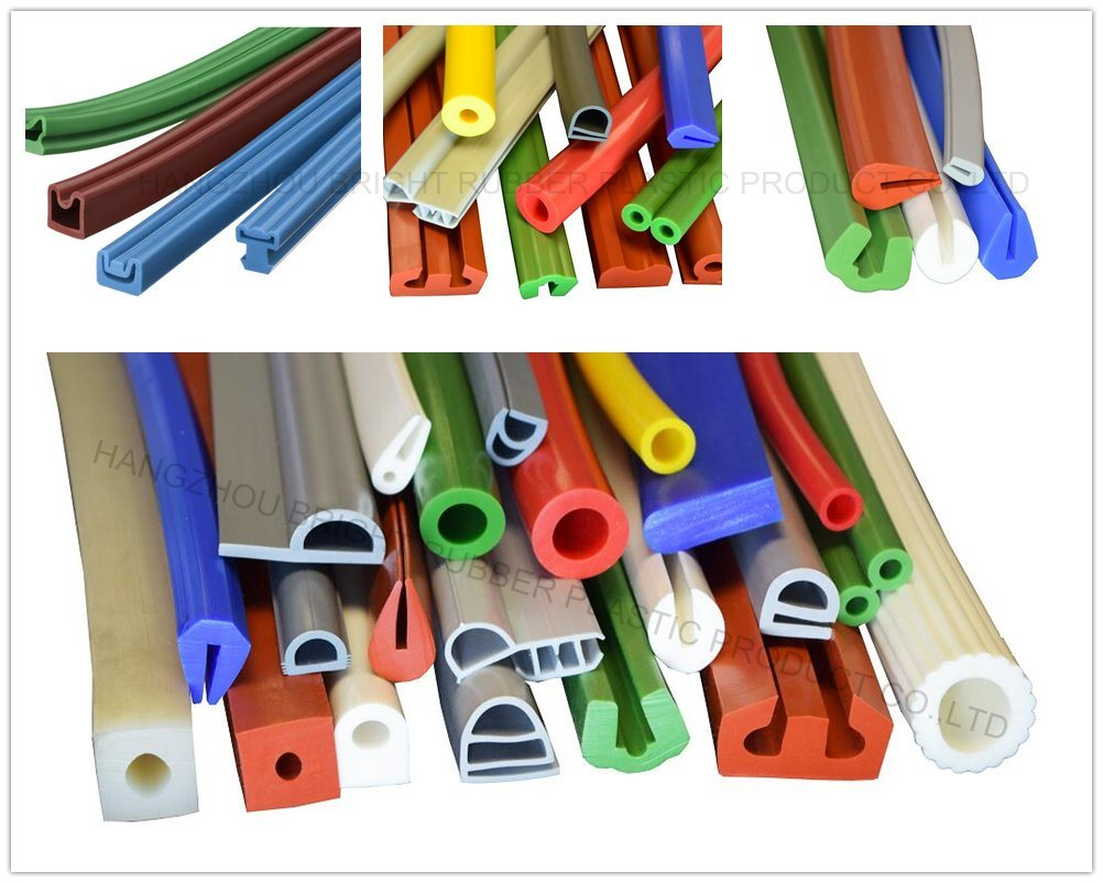 Food Grade Silicone Extruded Solid Profile