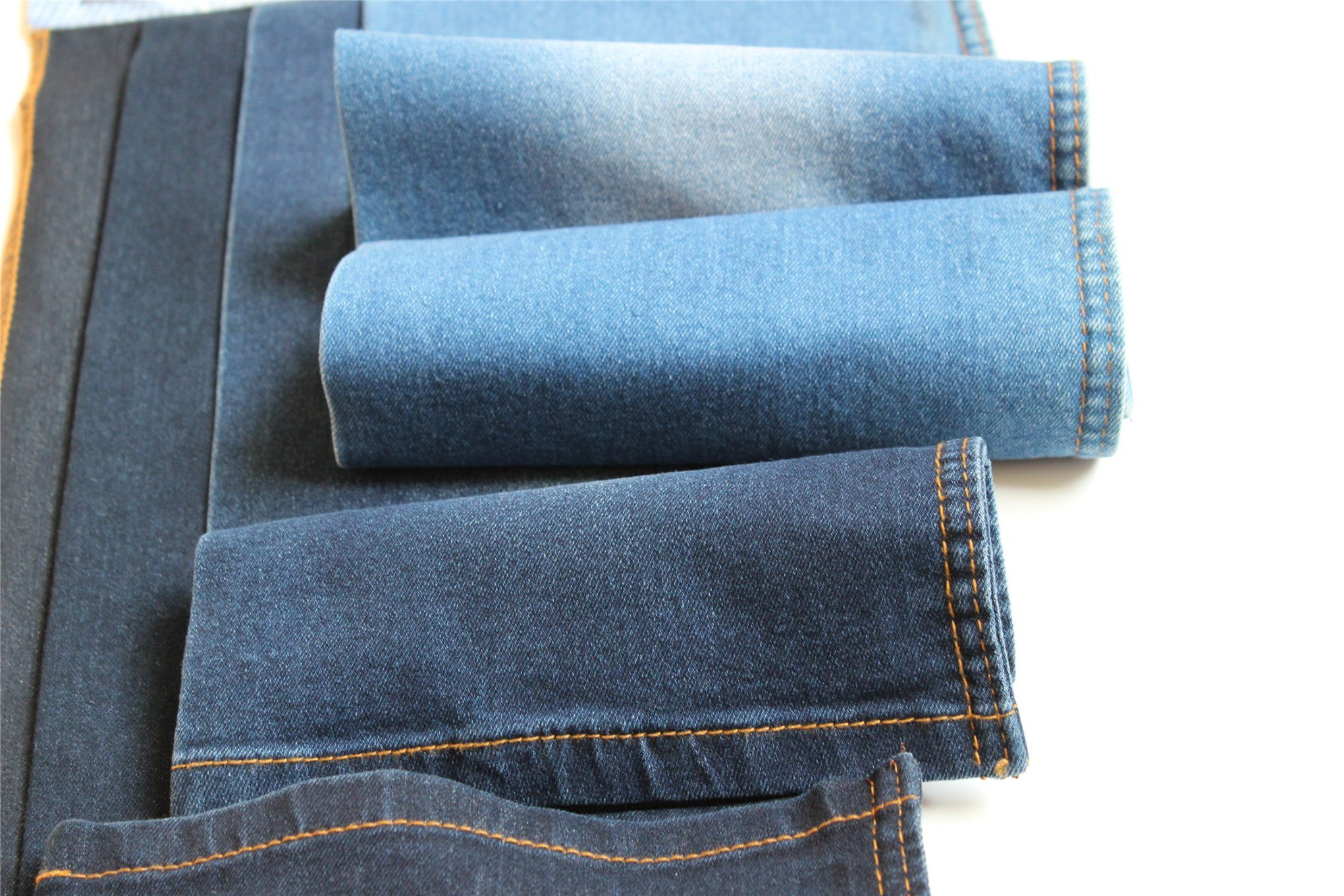Cotton Polyester Spandex Denim For Jeans and Blouse