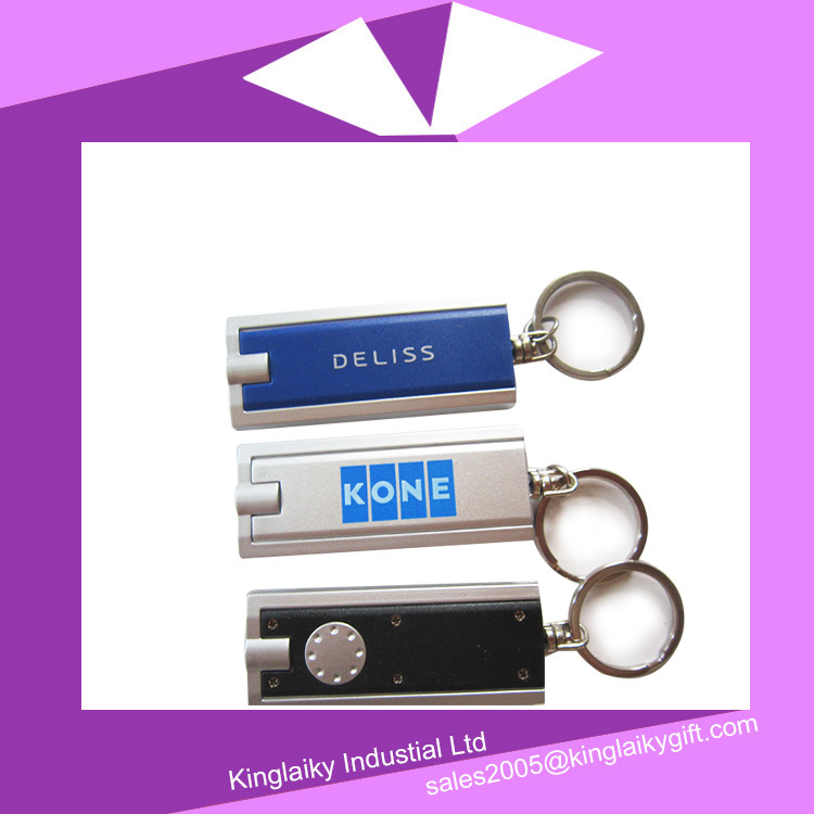 Customized LED Light Keyring/Keychain for Promotional (KLK-002)