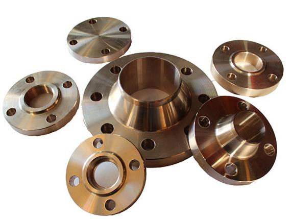 Pipe Fittings of Copper Nickel, C70600, Cu90ni10, Flange, Slip on Flange, Weld Neck Flange
