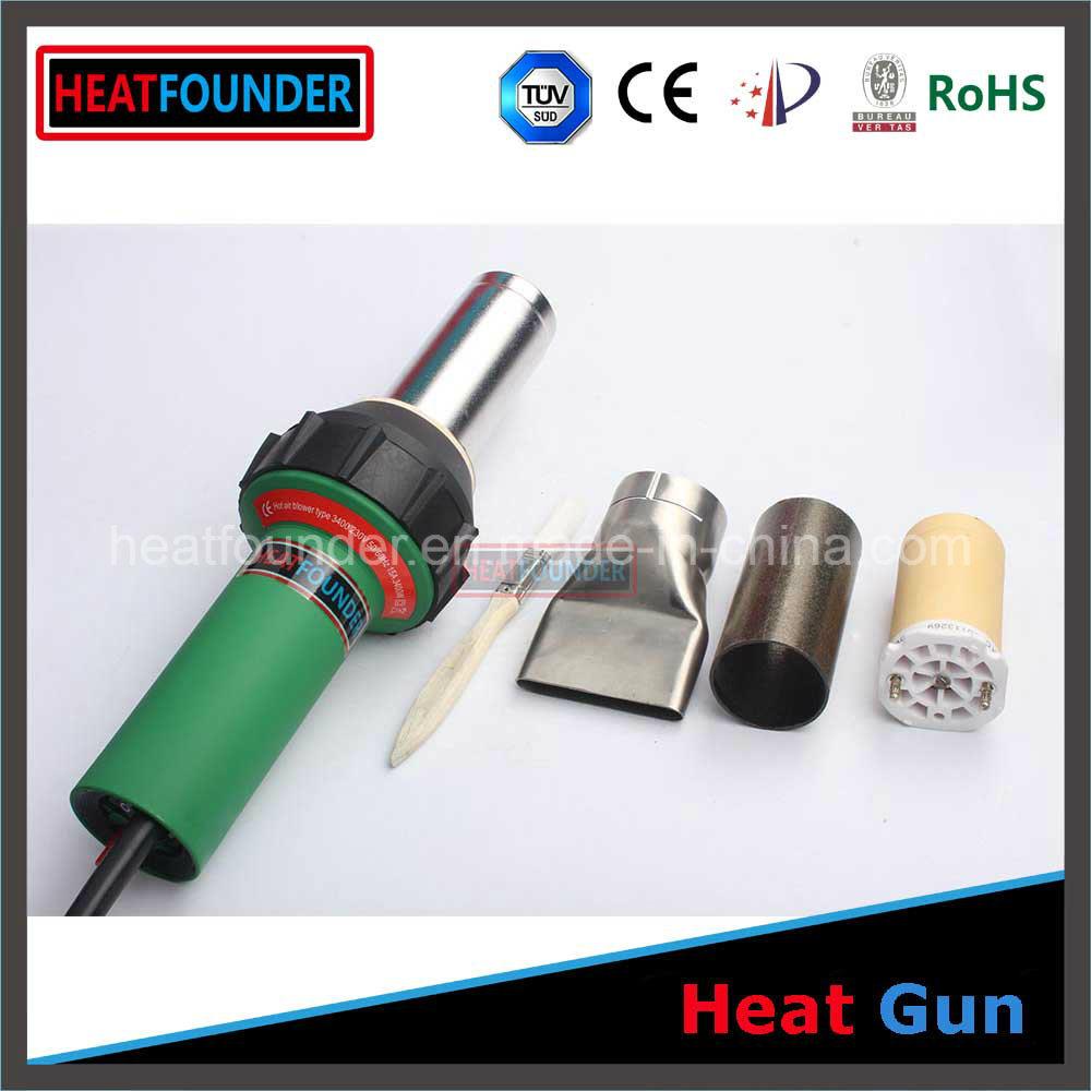 3400W Hot Air Gun PVC Welding Machine in Stock