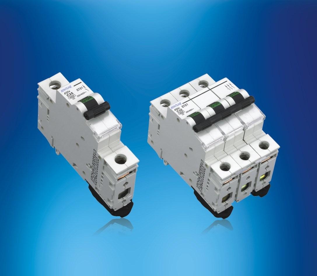 Sontune St61 Series (MCB) 1p 2p 3p 4p Miniature Circuit Breaker