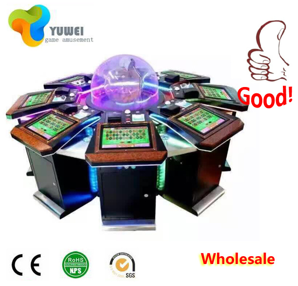 Jackpot Used Poker Table Gambling Cabinet Wooden Patin a Roulette Casino