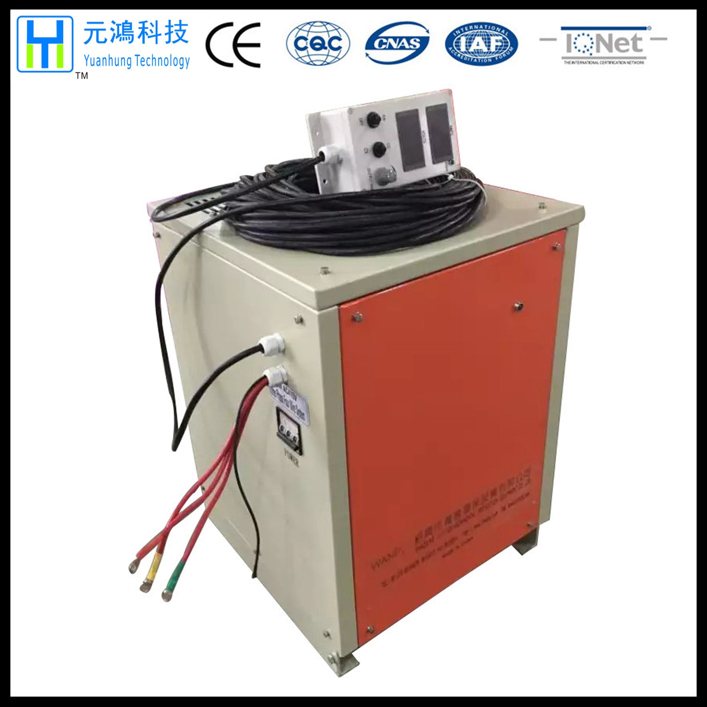 1500A 15V Zinc Plating Rectifier with 4-20mA Control Signal