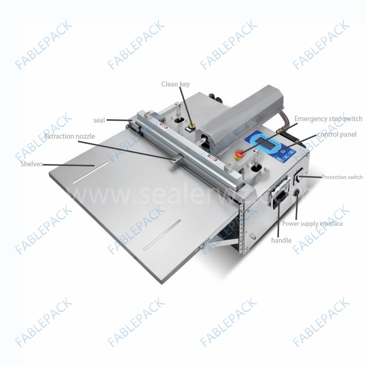 Table Pouch Vacuum Sealing Machine (DZQ-450)