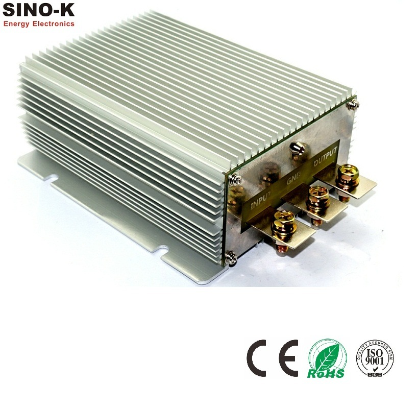 Waterproof DC-DC 12V to 24V 20A 480W Boost Power Converter