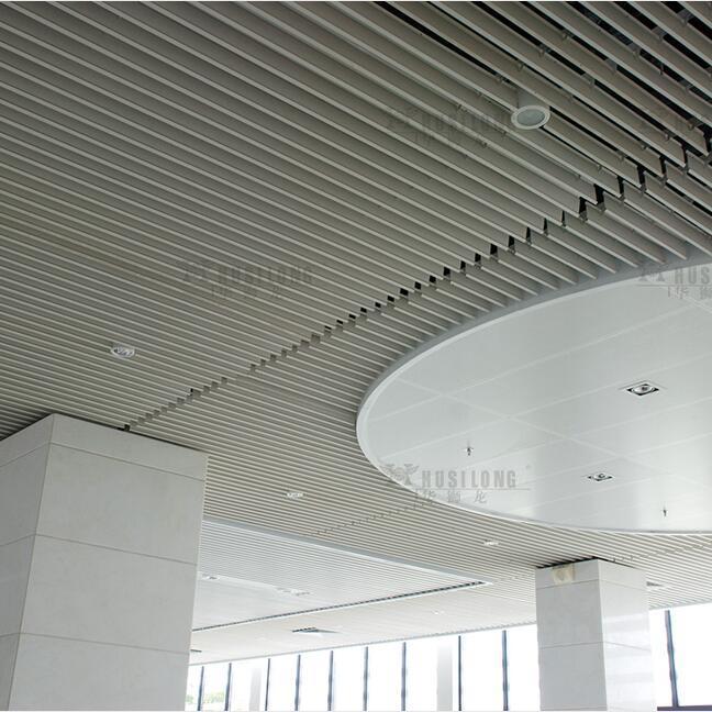 Aluminum Vertical Screen Ceiling for Interior Decorative