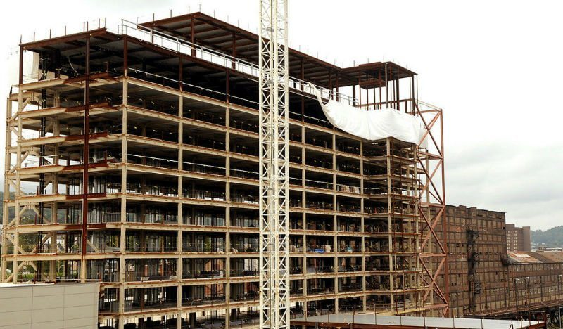 Steel Frame Dormitory Building with High Quality