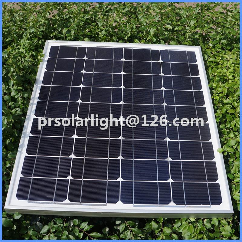 50W High Efficiency Mono Renewable Energy Saving PV Panel