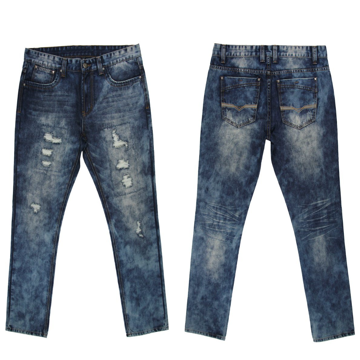 Top Sale Latest Design 2017 Summer Men′s Jeans (MYX10)