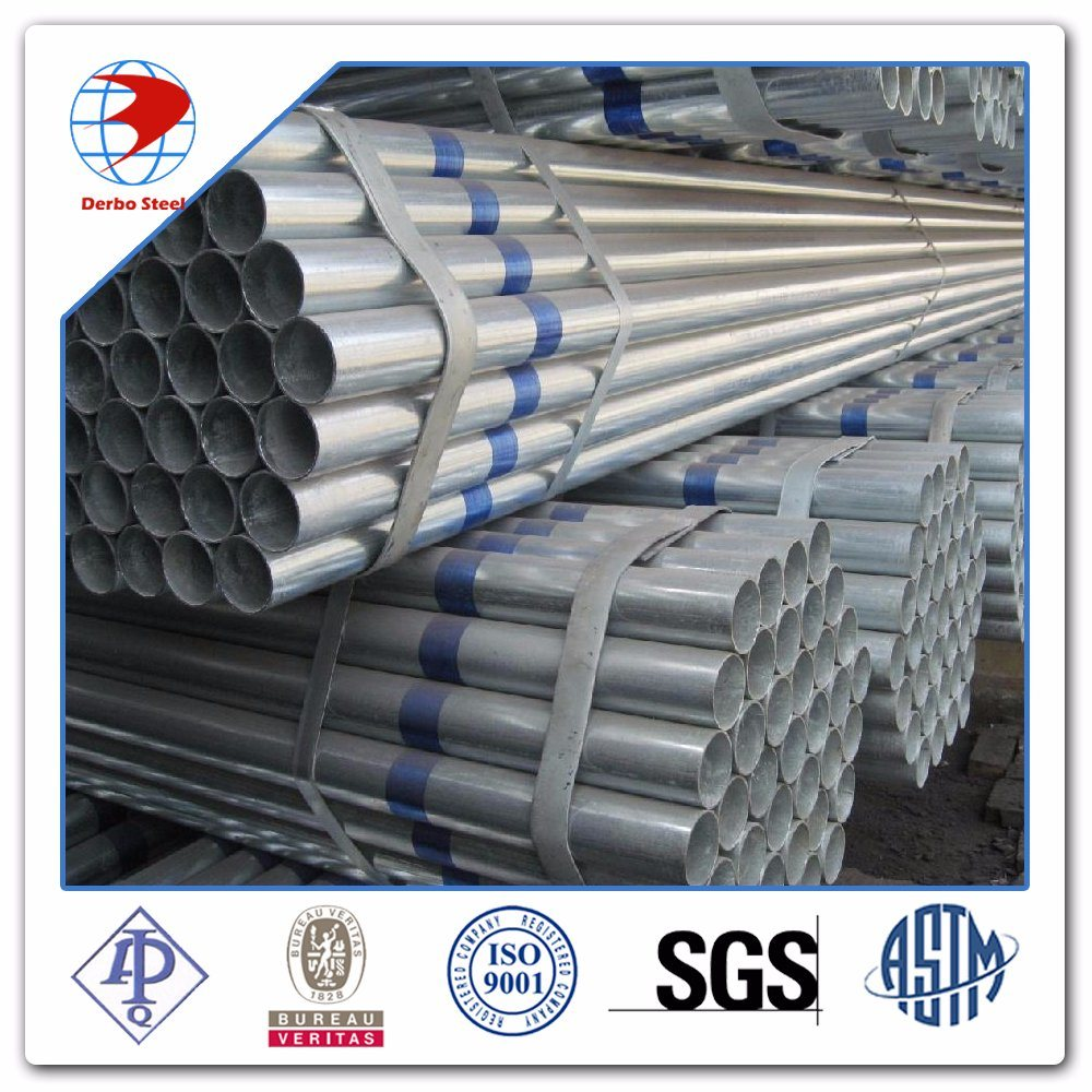 ASTM A53 Gr. B Galvanized Steel Pipe/Hot Dipped Galvanized Steel Pipe Factory