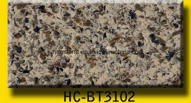 Complex Color Artificial Quartz Countertops