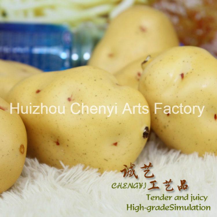 Cheap Wholesale New Potato Artificial Fruit