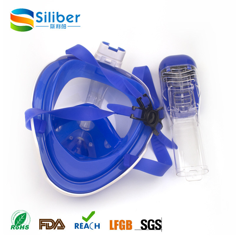 New Design 180 Degree Gopro Full Face Snorkel Mask