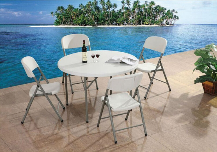 Hot Sale Folding Round Table and Chair with Fishing Chair