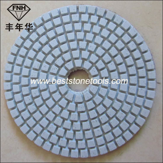 Flexible Wet Diamond Polishing Pad for Stone