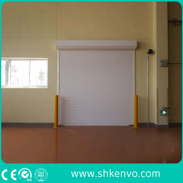 Ce Certified Thermal Insulated Aluminum Alloy Automatic Motorized Roller Shutter Door