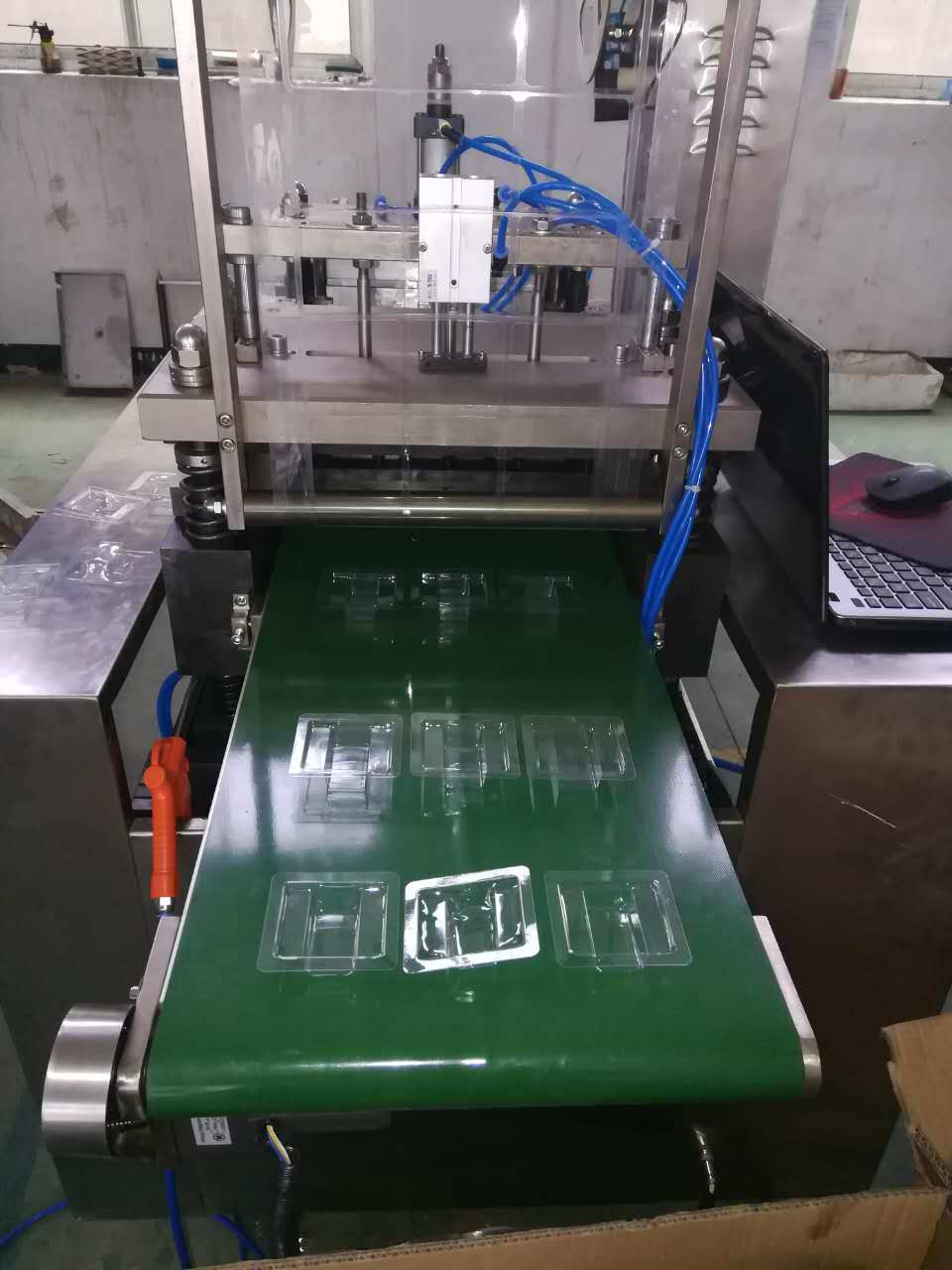 Qb-350 Model PVC Sealing and Card Packing Machine