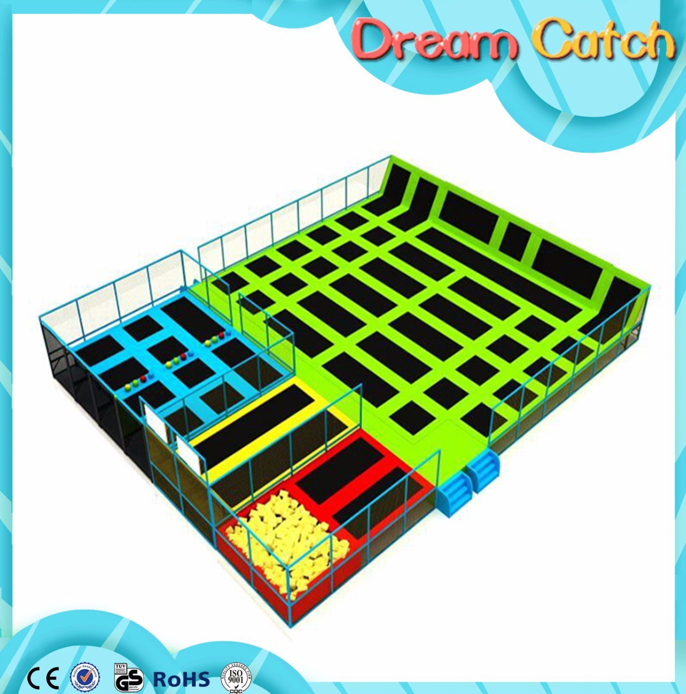 Factory Price for The Kids Soft Indoor Indoor Trampoline