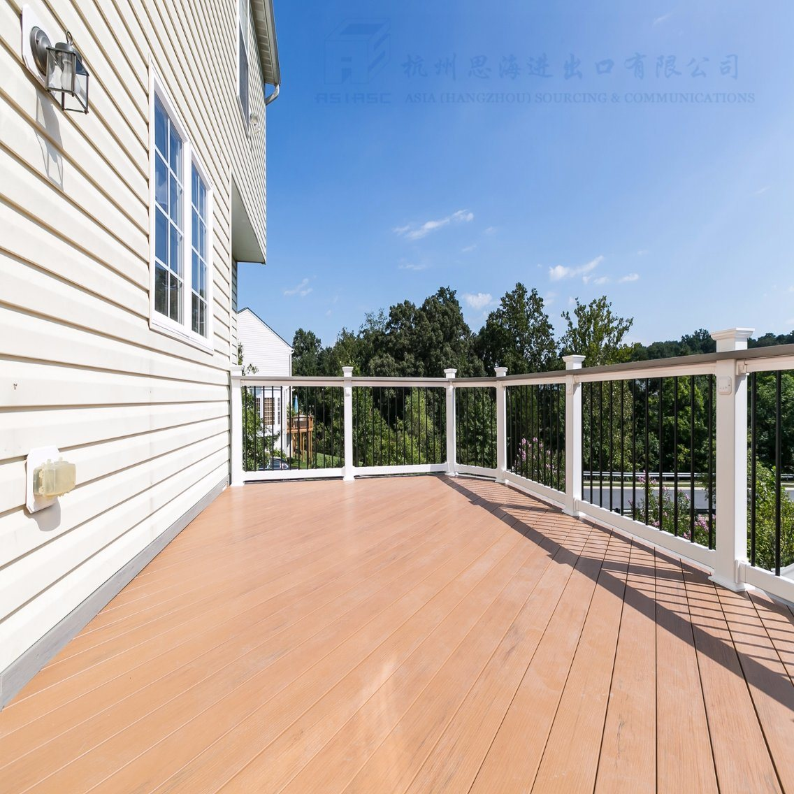 Super Seal Exterior Co-Extruded PVC Flooring for Balcony
