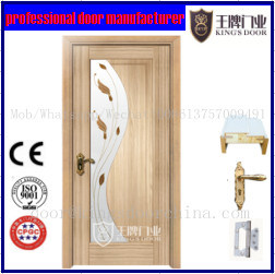 Euro Style Interior Wooden Combined Door