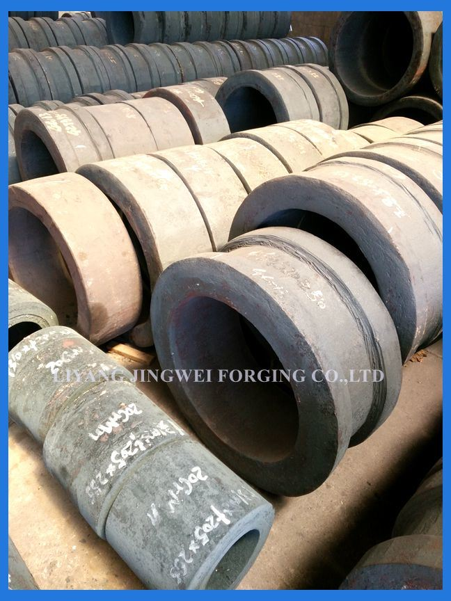 Finished Stainless Steel Forging Rings for Machine Parts