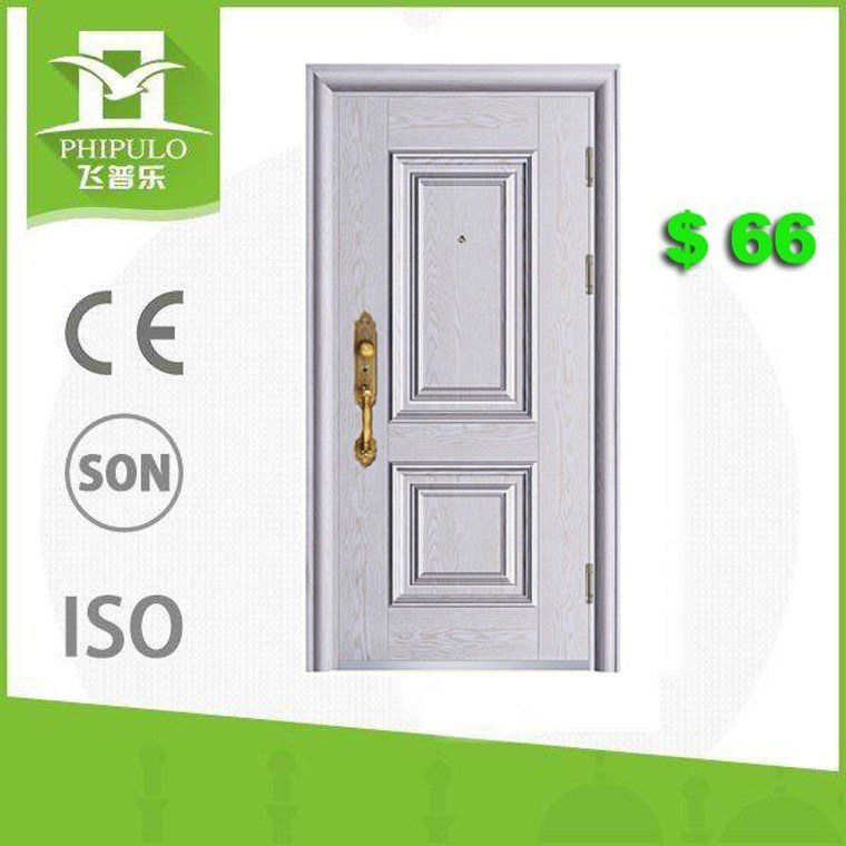 High Quality Entry Exterior Steel Security Door for Home