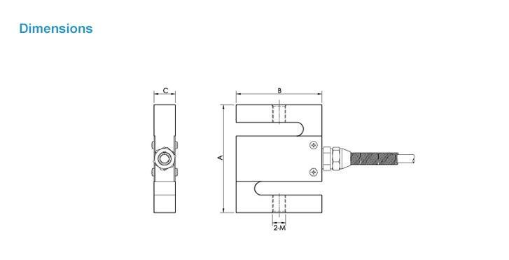 Ns - Wl1 Column Type Torque Sensor Load Cell