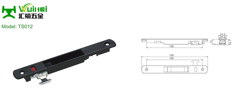 Aluminium Sliding Window and Door Lock with ISO9001 (TS012)