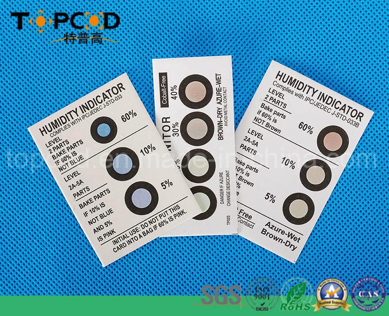6 Dots Cobalt Free Humidity Indicator Card (HIC)