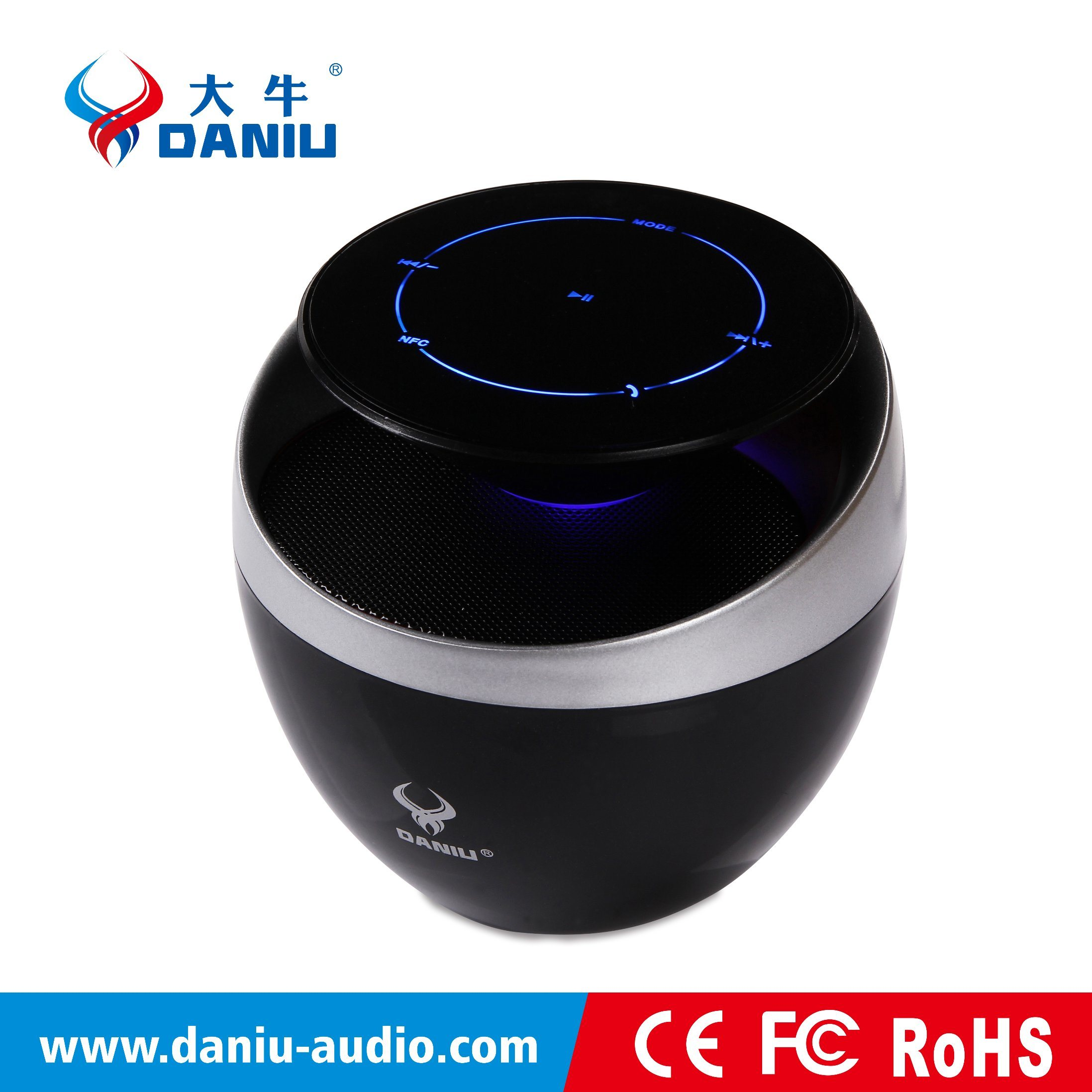 2016 Best Tone Quality Bluetooth Speaker with NFC Super Bass Speaker MP3/MP4 Speaker