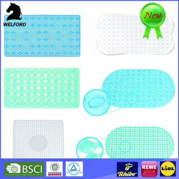 BSCI Audited PVC Bath Mats