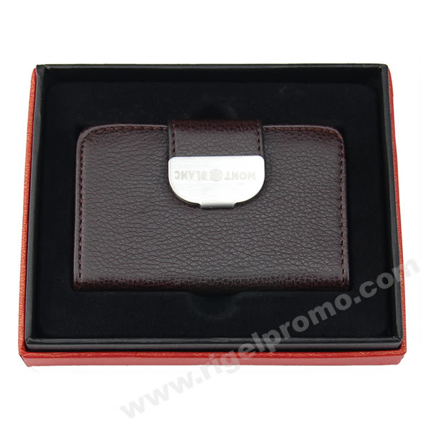 Leather Business Card Holder 424 China Business Card