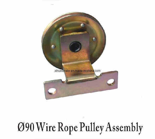Wire Rope Assembly : China wire rope pulley assembly
